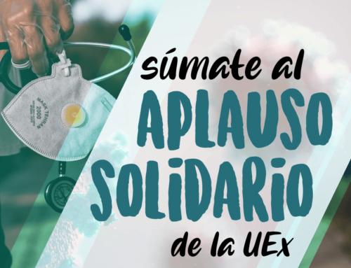 Aplauso solidario de la UEx