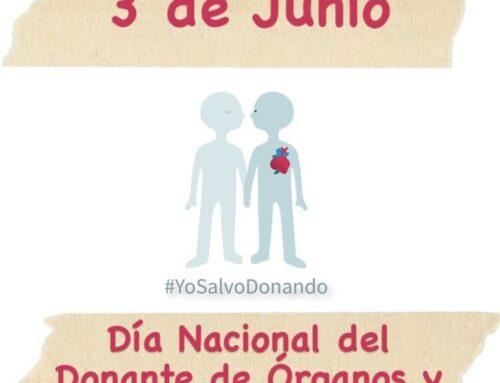 ¡Día Nacional del Donante de Órganos y Tejidos!
